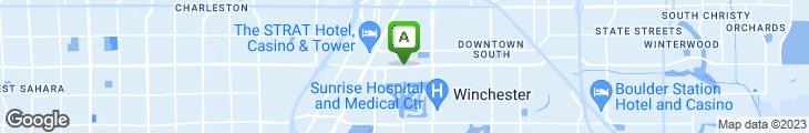 Map of Tony Romas