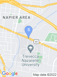 Trevecca Nazarene University map