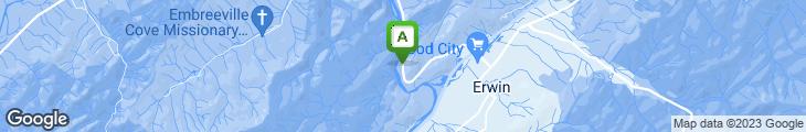 Map of River's Edge Restaurant