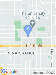 University of Tulsa map