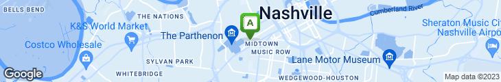 Map of The Goldrush Restaurant & Bar