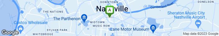 Map of Bar Louie (Nashville)