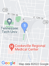Tennessee Tech map