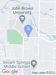 John Brown University map