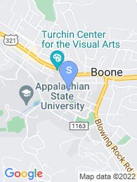 Appalachian State University map