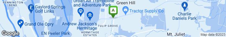 Map of LongHorn Steakhouse