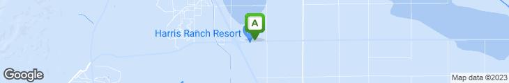 Map of Harris Ranch Restaurant & Inn