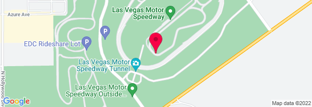 Map for Las Vegas Motor Speedway