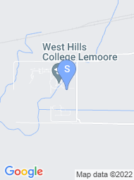 West Hills College Lemoore map