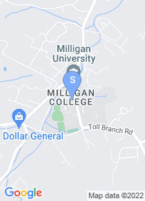 Milligan College map