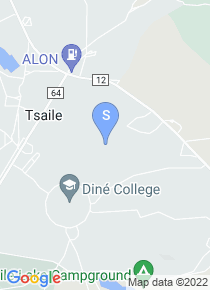 Dine College map