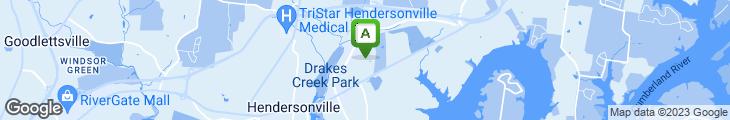 Map of Steak 'n Shake