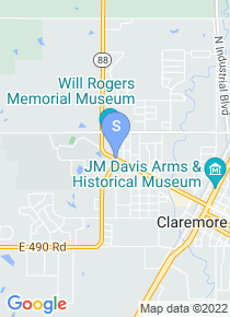 Rogers State University map