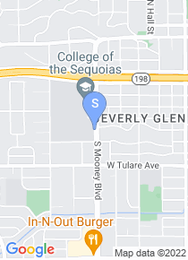 College of the Sequoias map