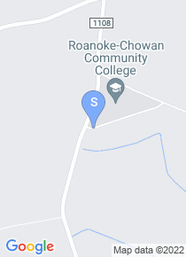 Roanoke Chowan map