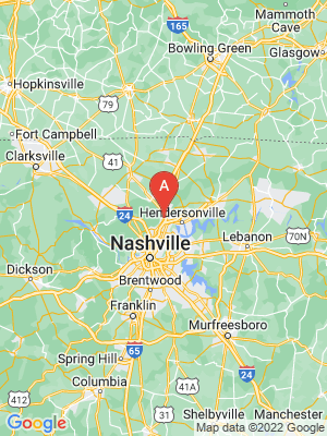 NEW HOMES map in Goodlettsville, Tennessee, USA