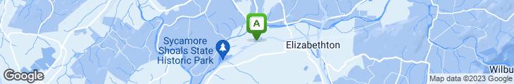Map of Bienvenidos Amigo