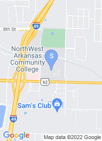 NorthWest Arkansas Community College map