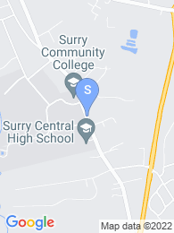 Surry Community College map