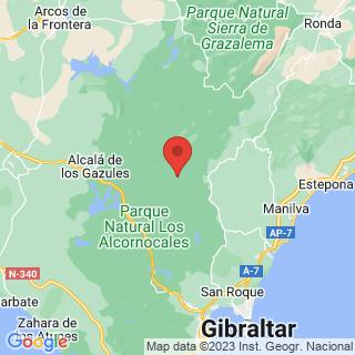 Map - Casa de Campo, Jimena de La Frontera