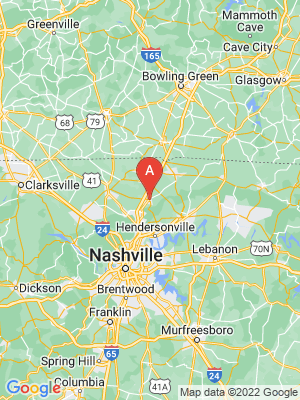 NEW HOMES map in White House, Tennessee, USA