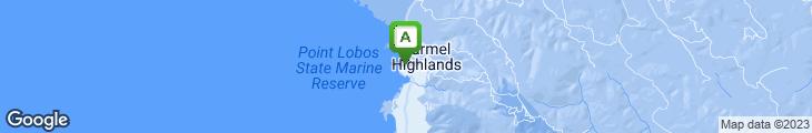 Map of Pacific's Edge Restaurant