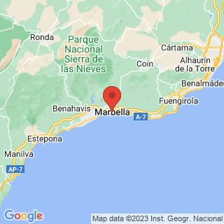Map - Villa con vistas al mar, Marbella