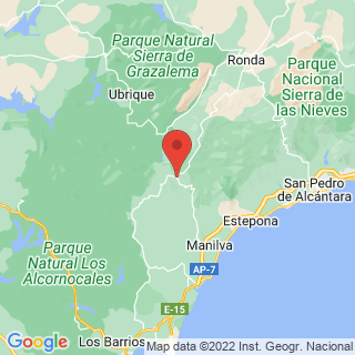 Map - Luxurious Cortijo with private golfcourse, Gaucin