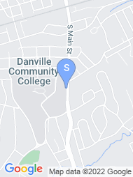 Danville Community College map
