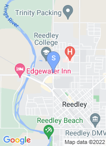 Reedley College map