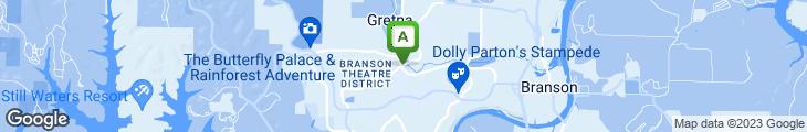 Map of Bandana's BBQ