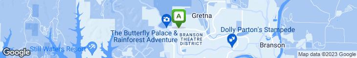 Map of Granny's Restaurant