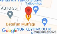 Harita: Betülün Mutfağı