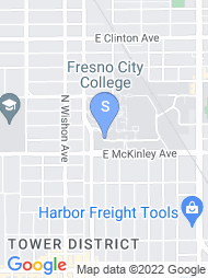 Fresno City College map