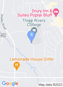 Three Rivers Community College map