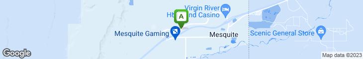 Map of Buffalo's Southwest Cafe