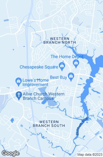 Map of Chesapeake