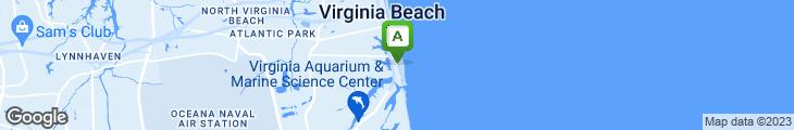 Map of Mahi Mah's Seafood Restaurant and Sushi Saloon