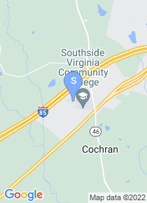 Southside Virginia Community College map
