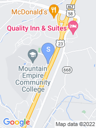 Mountain Empire Community College map