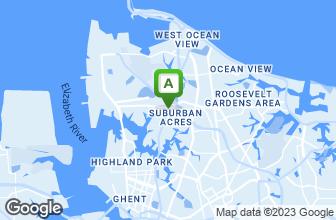 Map of AJ Gators Sports Bar & Grill