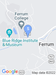 Ferrum College map
