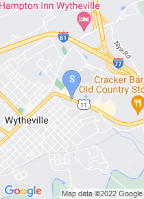 Wytheville Community College map