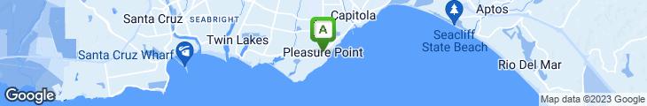 Map of Pleasure Pizza