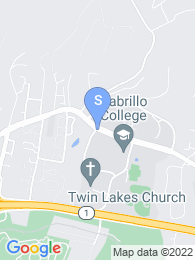 Cabrillo College map