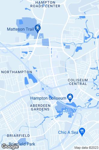 Map of Hampton