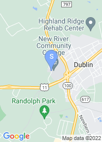 New River Community College map