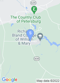 Richard Bland College map