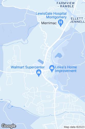 Map of Christiansburg