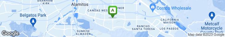 Map of Fat Wok Restaurant
